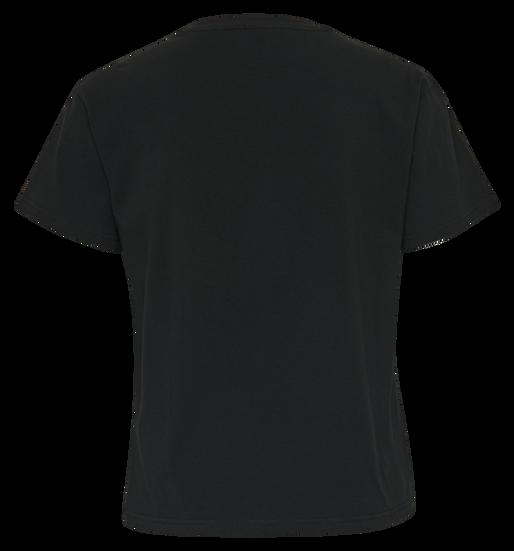 HMLBENITA T-SHIRT S/S TEE, BLACK, packshot