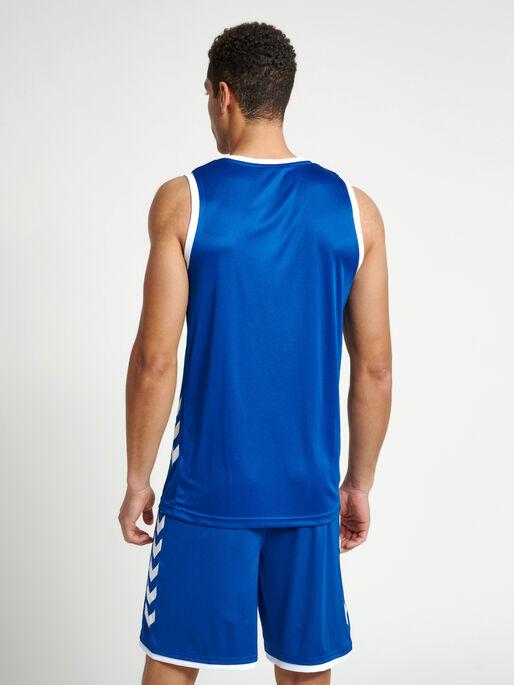CORE BASKET JERSEY, TRUE BLUE, model