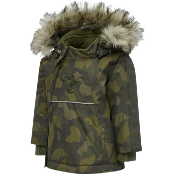hmlJESSIE JACKET, OLIVE NIGHT/ ECRU OLIVE, packshot