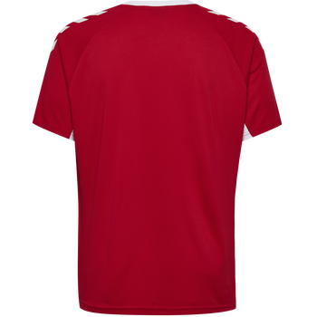 CORE KIDS TEAM JERSEY S/S, TRUE RED, packshot