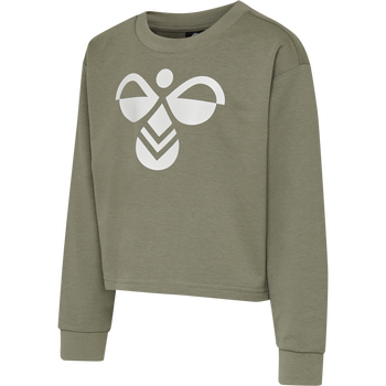 hmlCINCO SWEATSHIRT, VETIVER, packshot