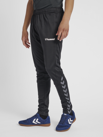hmlAUTHENTIC TRAINING PANT, BLACK/WHITE, model