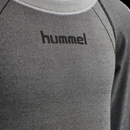 hmlMAX SEAMLESS T-SHIRT L/S, MEDIUM MELANGE, packshot