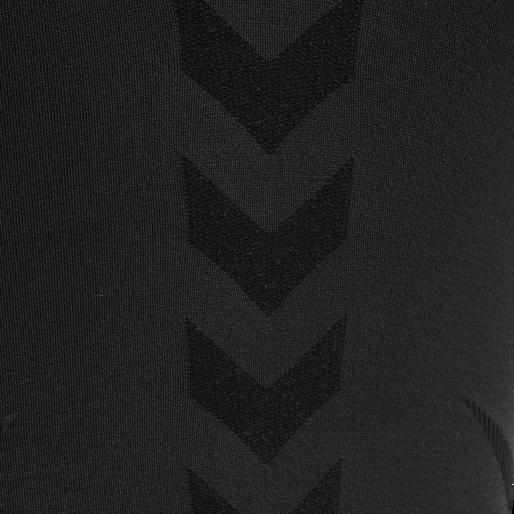 hmlTIF SEAMLESS TOP, BLACK, packshot