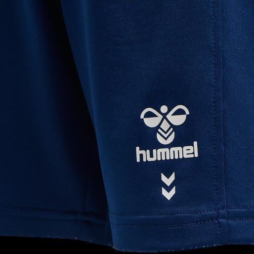 hmlMEGA FOOTBALL SHORTS SET, ESTATE BLUE, packshot