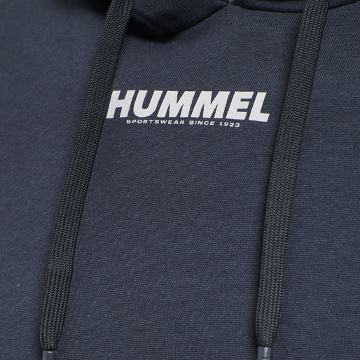 hmlLEGACY HOODIE, BLUE NIGHTS, packshot