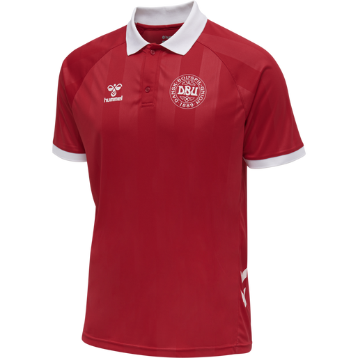 DBU FAN 2020 POLO, TANGO RED, packshot