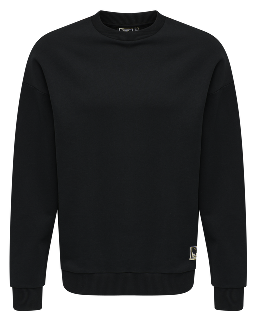 hmlURBAN SWEATSHIRT, BLACK, packshot