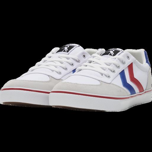 STADIL LOW OGC 3.0, WHITE/BLUE/RED/GUM, packshot