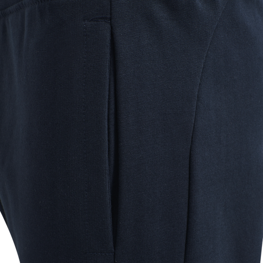 hmlACTION COTTON PANTS KIDS, DARK SAPPHIRE/BLUE CORAL, packshot