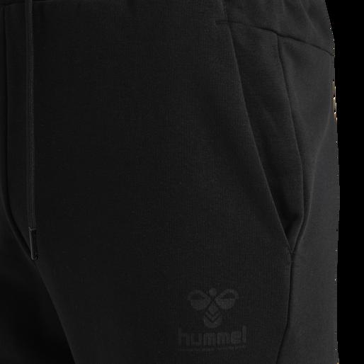 hmlISAM REGULAR PANTS, BLACK, packshot