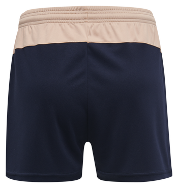hmlACTION SHORTS WOMAN, DUSTY PINK/MARINE, packshot