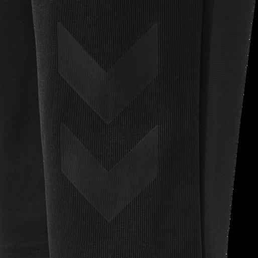 hmlACTIVE KIDS FOOTBALL PANTS, BLACK, packshot