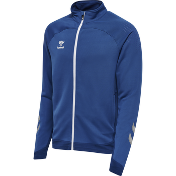hmlLEAD POLY ZIP JACKET, TRUE BLUE, packshot