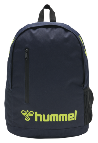 hmlACTION BACK BAG, MARINE/SAFETY YELLOW, packshot