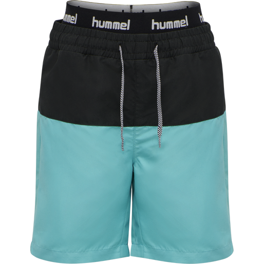 hmlGARNER BOARD SHORTS, SCUBA BLUE, packshot
