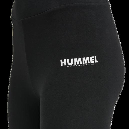 hmlLEGACY 2-PACK HIGH WAIST TIGHTS, BLACK/BEETLE, packshot