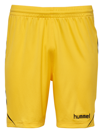 AUTH. CHARGE POLY SHORTS, SPORTS YELLOW, packshot