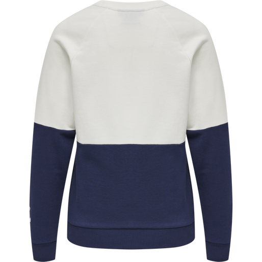 HMLKAIKA SWEAT SHIRT, MEDIVIAL BLUE, packshot