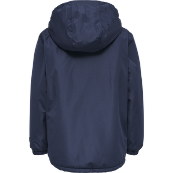 hmlCOZY JACKET, BLACK IRIS, packshot