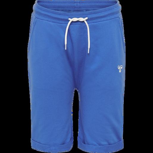 hmlEGGERT SHORTS, NEBULAS BLUE, packshot