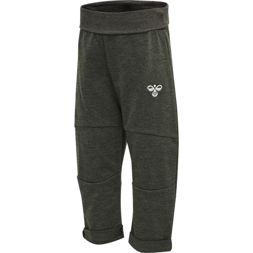 hmlMORRO PANTS, BLACK OLIVE, packshot