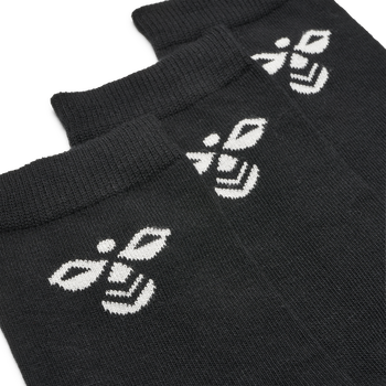 SUTTON 3-PACK SOCK, BLACK, packshot