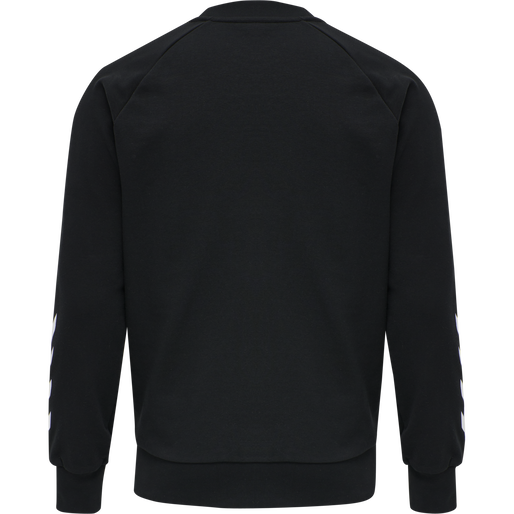 hmlISAM SWEATSHIRT, BLACK, packshot