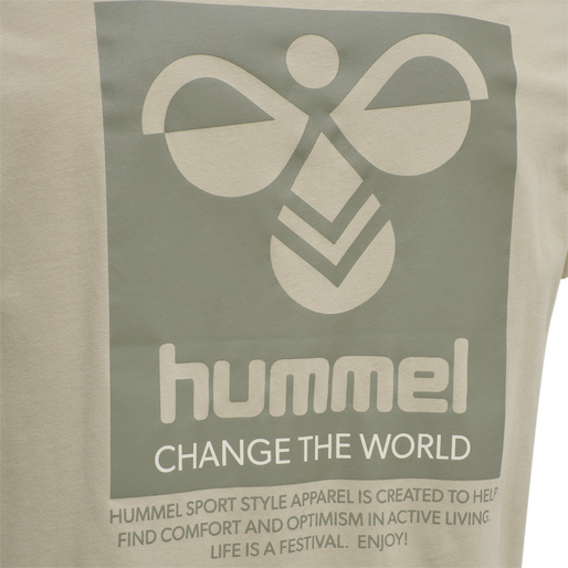 hmlTORONTO T-SHIRT, HUMUS, packshot