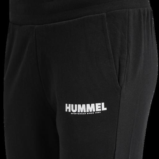 hmlLEGACY WOMAN TAPERED PANTS, BLACK, packshot