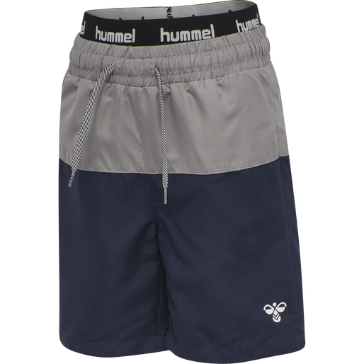 hmlGARNER BOARD SHORTS, BLACK IRIS, packshot