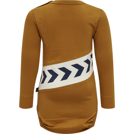 hmlCLEMENT BODY L/S, PUMPKIN SPICE, packshot