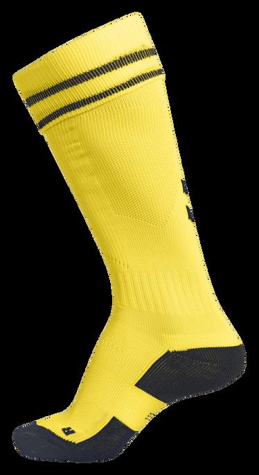 ELEMENT FOOTBALL SOCK , SPORTS YELLOW/BLACK, packshot