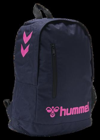 hmlACTION BACK BAG, MARINE/DIVA PINK, packshot