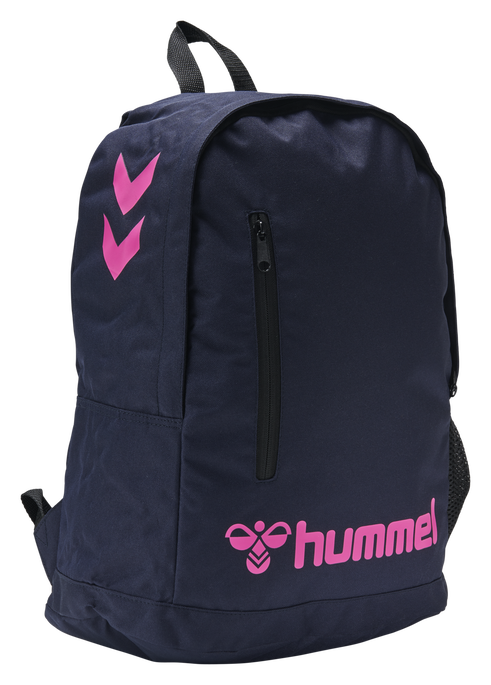 hmlACTION BACK BAG, MARINE/DIVA PINK, packshot