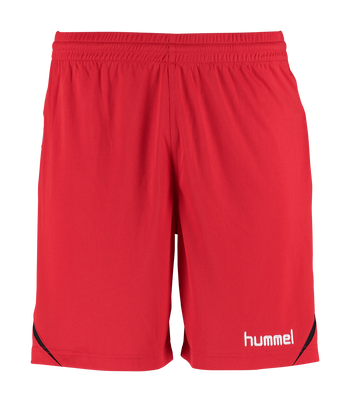 AUTH. CHARGE POLY SHORTS, TRUE RED, packshot