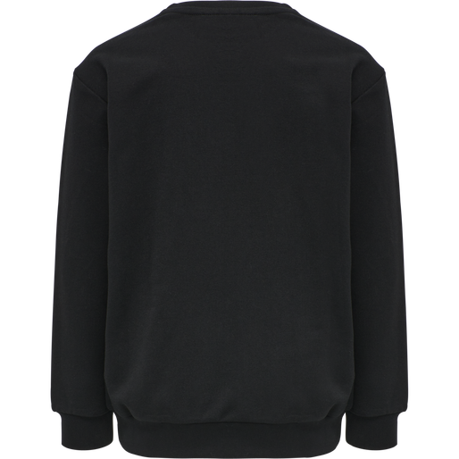 hmlMONO SWEATSHIRT, BLACK, packshot