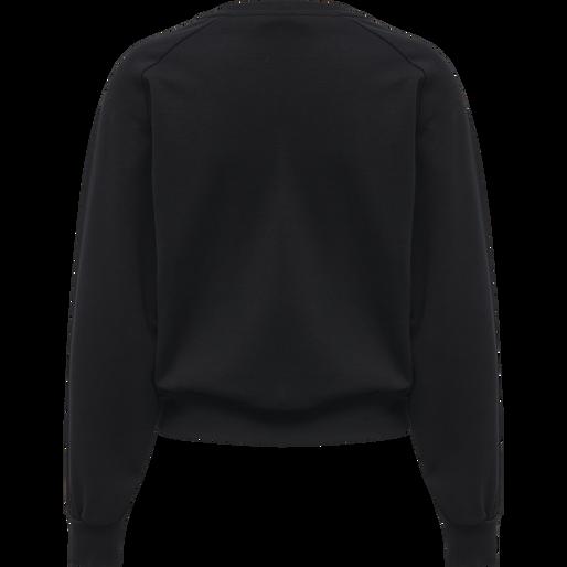 HMLSTELLA SWEAT SHIRT, BLACK, packshot
