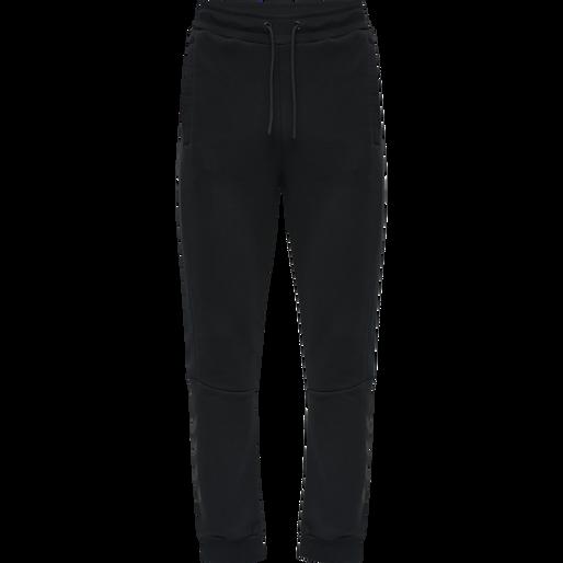 hmlFINLEY REGULAR PANTS, BLACK, packshot