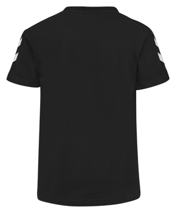 HUMMEL GO KIDS COTTON T-SHIRT S/S, BLACK, packshot