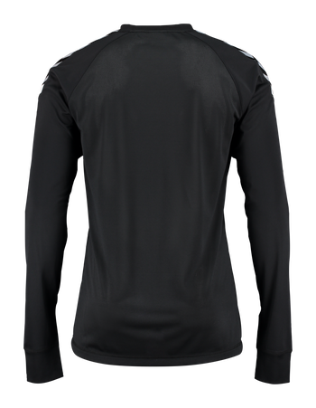 AUTH. CHARGE LS POLY JERSEY, BLACK, packshot