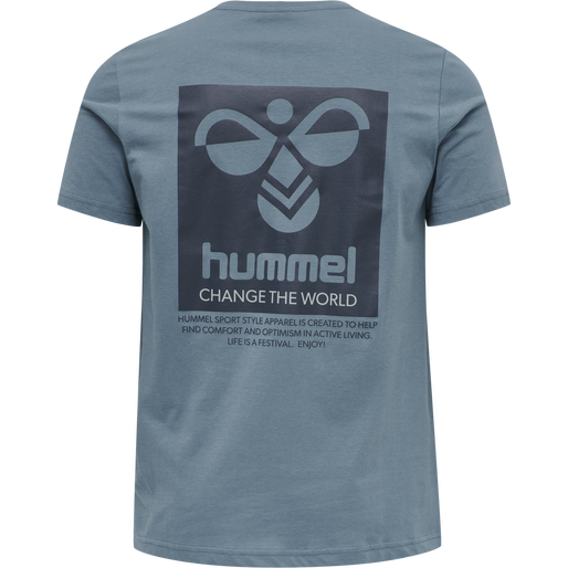 hmlTORONTO T-SHIRT, CHINA BLUE, packshot