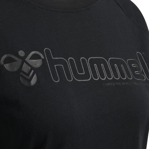 hmlZENIA T-SHIRT S/S, BLACK, packshot