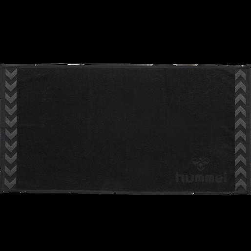 Hummel Old School Small Towel Handtuch Strandtuch 50x100 schwarz 025064 2001 WOW