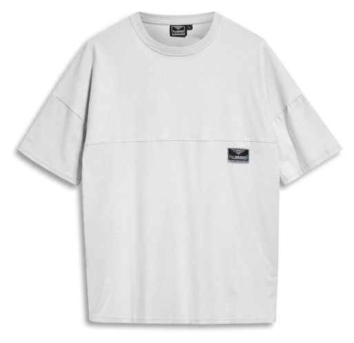 hmlBEACH BREAK T-SHIRT, WHITE, packshot
