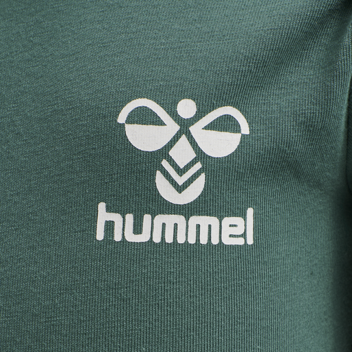 hmlMAUI BODY L/S, BLUE SPRUCE, packshot