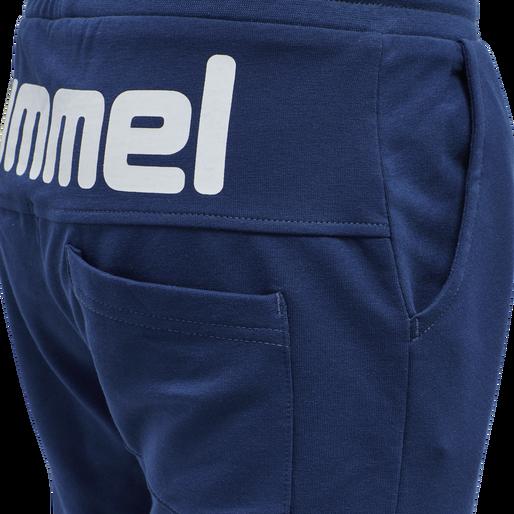hmlFLICKER SHORTS, ESTATE BLUE, packshot