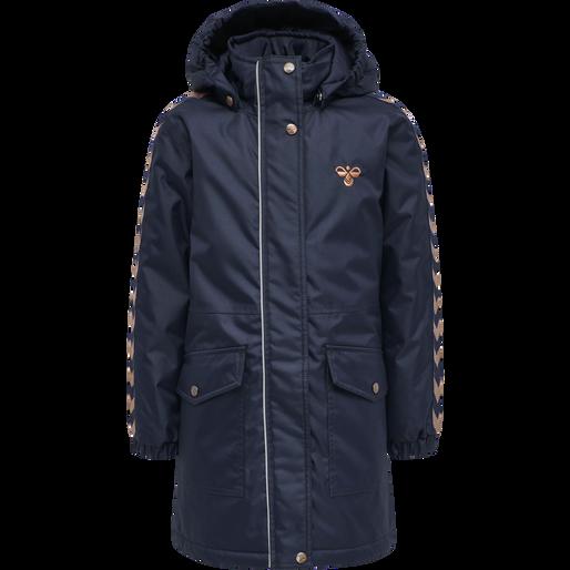 hmlJEANNE COAT, BLACK IRIS, packshot