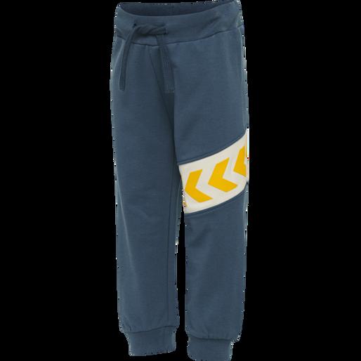 hmlCLEMENT PANTS, MAJOLICA BLUE, packshot