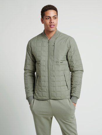 hmlLUKE JACKET, VETIVER, model